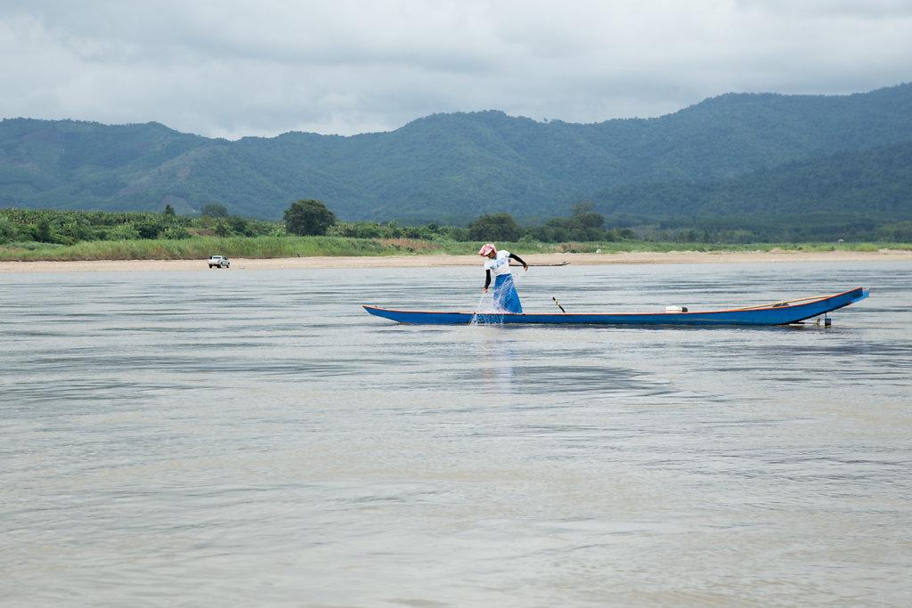 Croisière sur le Mekong, Laos