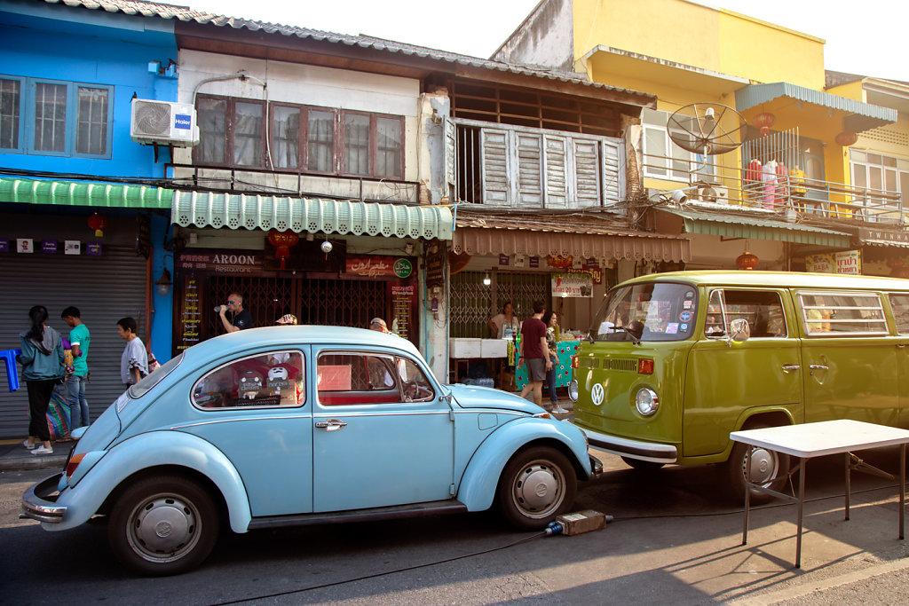 Ruelle dans la old town de Phuket